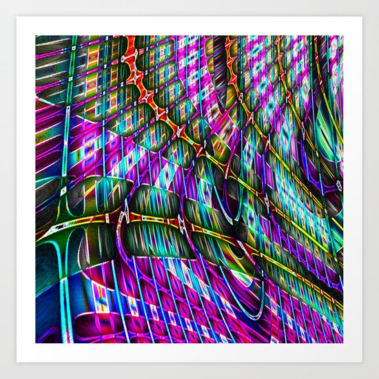 Enmeshed Art Print