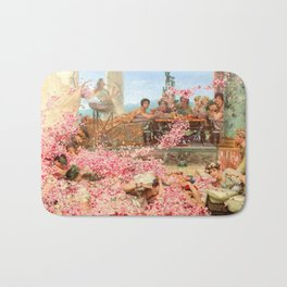 The Roses of Heliogabalus by Sir Lawrence Alma-Tadema Bath Mat