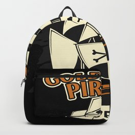 Gold Coast Pirate Gold And Glory Backpack