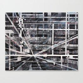 Falling night Canvas Print