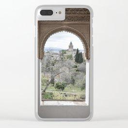 Window to Granada Clear iPhone Case