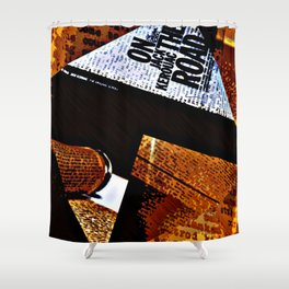 Paradise Road To Sal Made Jack Shower Curtain