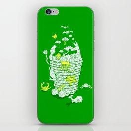 Ideas Never Die iPhone Skin
