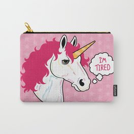I'm a Tired Unicorn Carry-All Pouch
