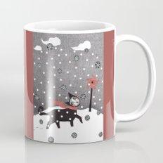 Snow Cat Coffee Mug