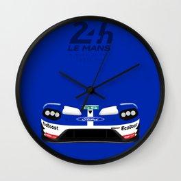 Minimal GT Le Mans 2016 Wall Clock