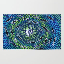 Fish - learning Rug