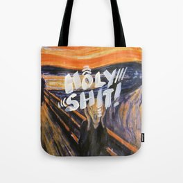 holy shit - 31daysofcursing Tote Bag
