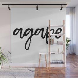 Agape Wall Mural