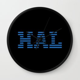 HAL Blue Wall Clock