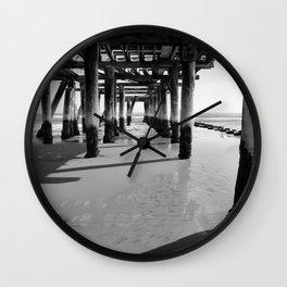 Under The Boardwalk Wall Clock