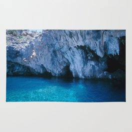 NATURE'S WONDER #5 - BLUE GROTTO (Turkey) #2 #art #society6 Rug