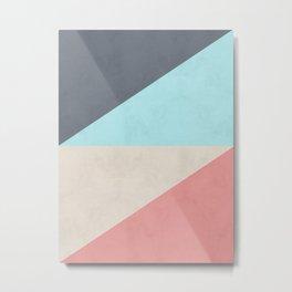 Geometric and fashion V Metal Print