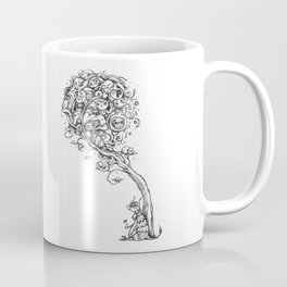 The Story Of Ferdinand (Psychedelic Bull Drawing) Coffee Mug