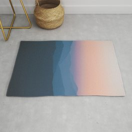 Sunset over Nepal Rug