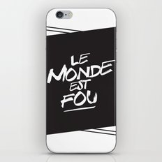 Le monde  iPhone & iPod Skin