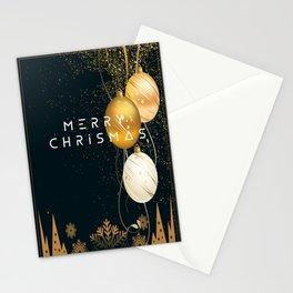 merry chrismas card Stationery Cards