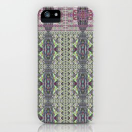 Eighty and One: Squares of Three Square iPhone Case