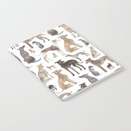 Greyhounds and Whippets Notebook