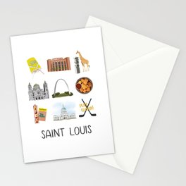 Saint Louis Stationery Cards