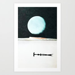 Stream of consciousn Art Print