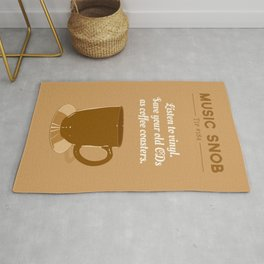 Coffee Coasters — Music Snob Tip #184 Rug
