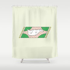 Fat Russell Shower Curtain