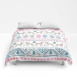 Beautiful Norwegian Winter Pattern Comforters
