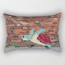 Skater Beast Turtle Backpack Rectangular Pillow