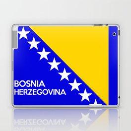 Bosnia and Herzegovina country flag name text Laptop & iPad Skin