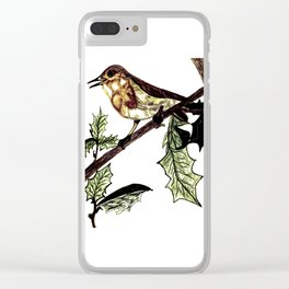 The Singing Bird Clear iPhone Case