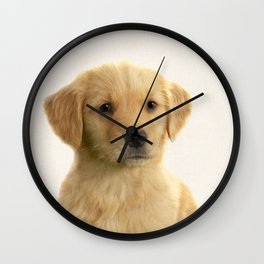Dog print dog photography minnimalist nursery art animal Wall Clock