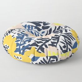 Outdoor: florals matching to design for a happy life Floor Pillow