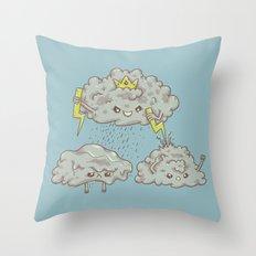 Rain of Terror Throw Pillow