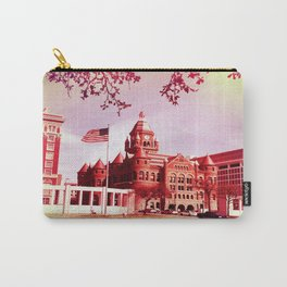 FLAG IN DEALEY PLAZA Carry-All Pouch