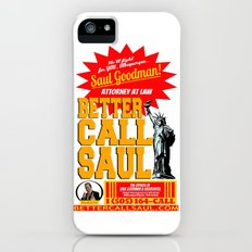 BETTER CALL SAUL  |  BREAKING BAD Slim Case iPhone (5, 5s)