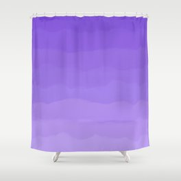 Dreamy Purple Fluff Shower Curtain