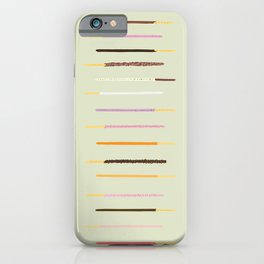 21 flavors of pocky - matcha green iPhone Case