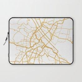 VIENNA AUSTRIA CITY STREET MAP ART Laptop Sleeve