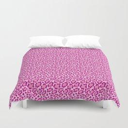 Pink Leopard Duvet Cover