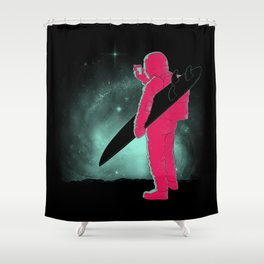 Selfie First Shower Curtain