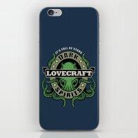lovecraft iPhone & iPod Skins featuring Lovecraft Dark Spirits by Rebekie Bennington