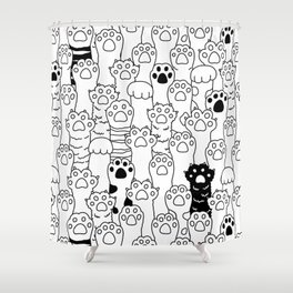 Paw Paw Shower Curtain