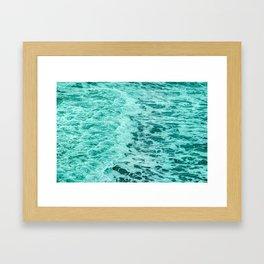 Ocean Water Waves Framed Art Print