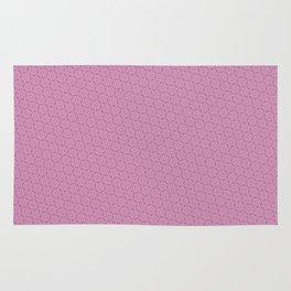 Cool patterns ~ THX 1138 Pink Rug