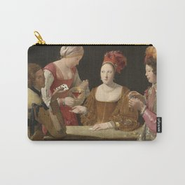 Georges De La Tour - The Cheat With The Ace Of Clubsc Carry-All Pouch