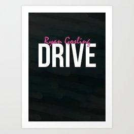 Drive - Minimalist Print Art Print