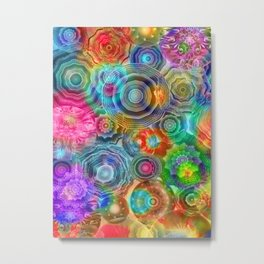 Flowery Meadow 2 Metal Print