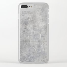 Stone Texture Surface 43 Clear iPhone Case