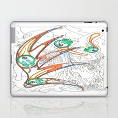 Embryonic Fly Trap Laptop & iPad Skin